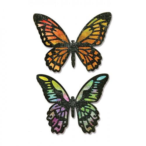 Thinlits Die Set - Detailed Butterflies - 4 pcs - Tim Holtz