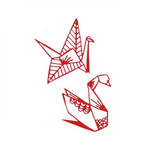 Die Set - Origami - 2 pcs