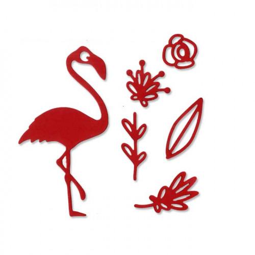 Die Set - Flamant rose - 6 pcs