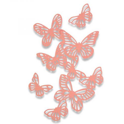 Thinlits Die Set Envolée de papillons - 3 pcs