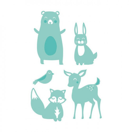 Die Set Animaux de la forêt
