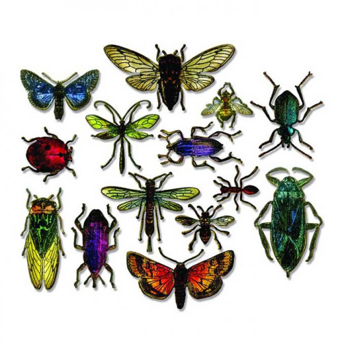 Framelits Die Set Entomologie - 14 pcs - Entomology