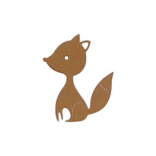 Die Mon petit renard - 5 x 6 cm
