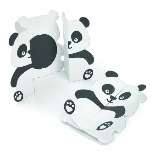 Thinlits Die Set Carte Panda - 14 pcs