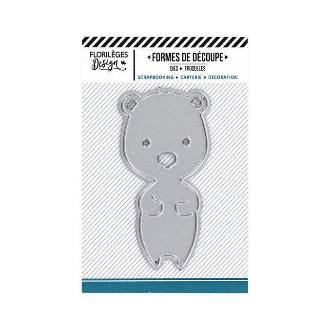 Die Mon petit ourson - 5 x 6 cm