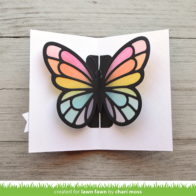 Die Set Papillon Pop-Up