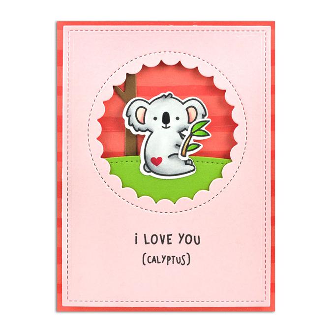 Die Set Koala I Love You