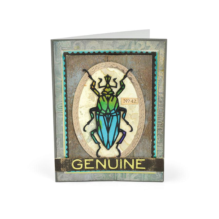 Thinlits Die Set Insectes géométriques - 4 pcs