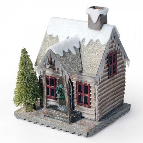 Bigz Die Village en hiver par Tim Holtz