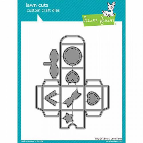 Die Set - Mini boîte cadeaux - 3,8 x 3,8 x 2,9 cm