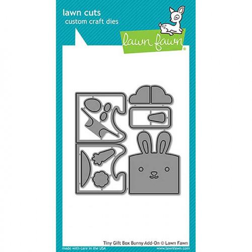 Die Set Lapin pour Mini boîte cadeaux