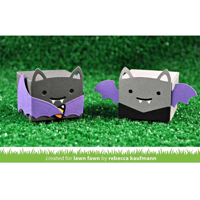 Die Set Chauve-souris pour Mini boîte cadeaux