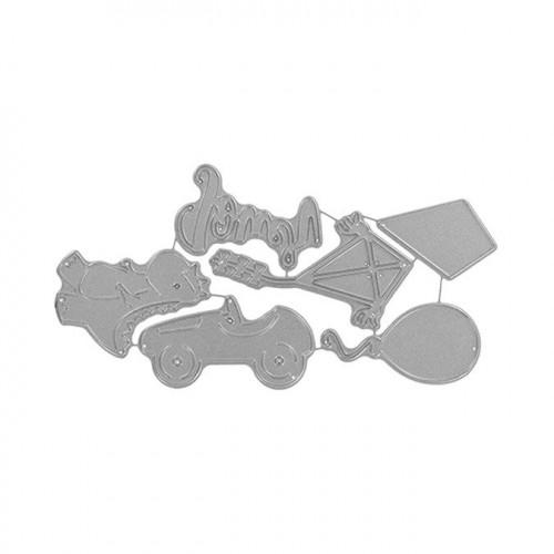 Matrices de découpe - Jeux d'enfance - 6 pcs
