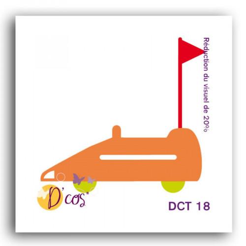 Die D'cos - Auto-tamponneuse - 4,5 x 4,3 cm