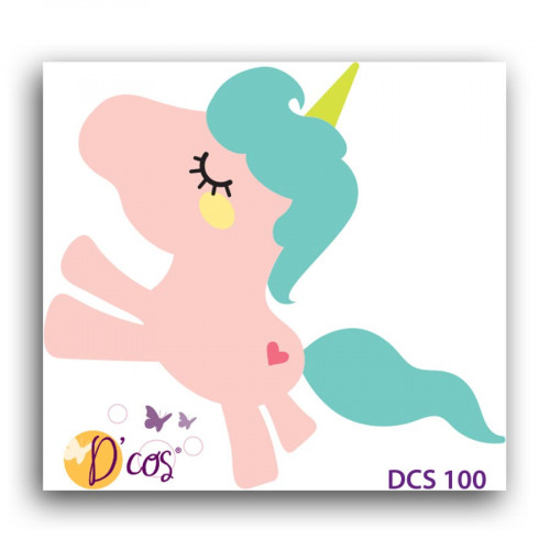 Die D'cos Licorne - 4,7 x 4,3 cm