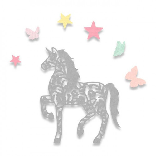 Thinlits Die Set Licorne féerique - 5 pcs