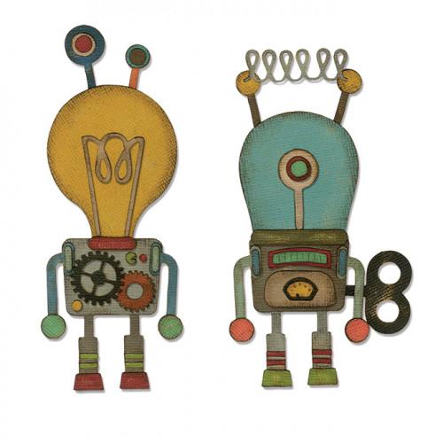 Thinlits Die Set Robotic - 14 pcs