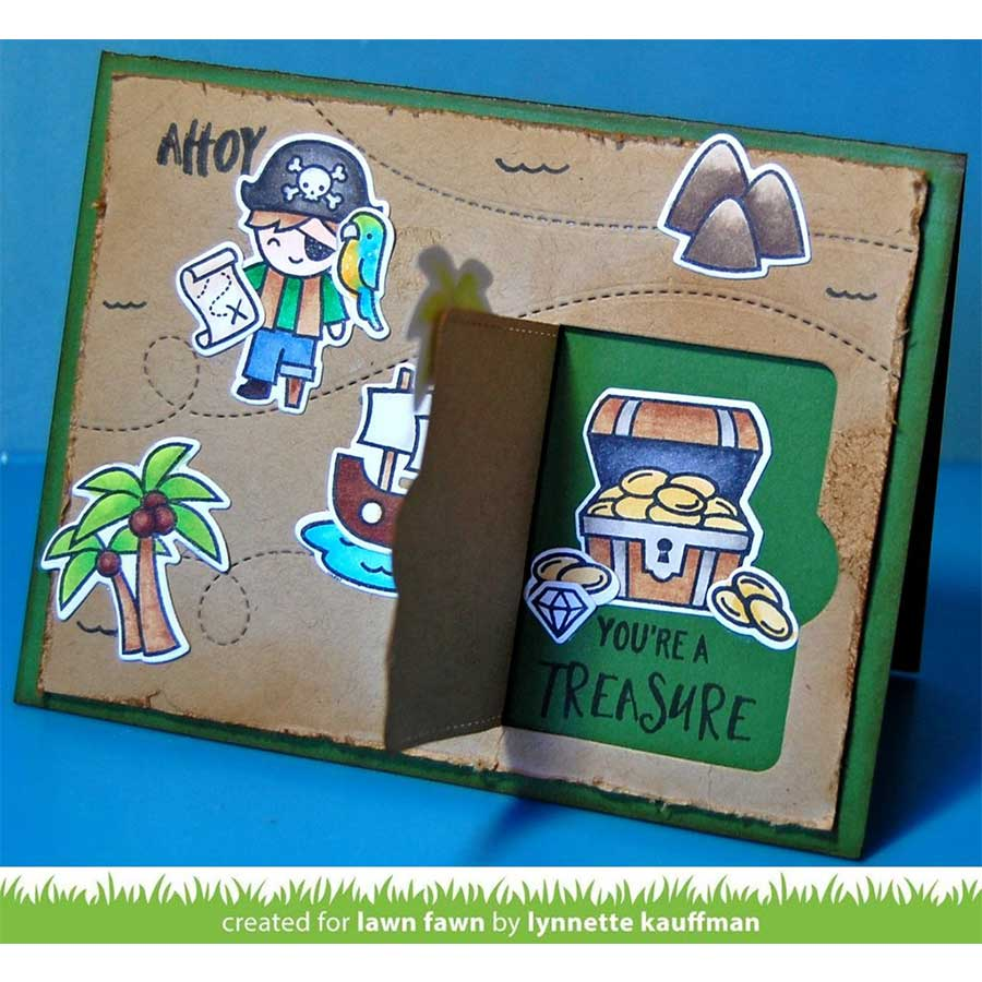 Die Set - Ahoy, pirates - 13 pcs