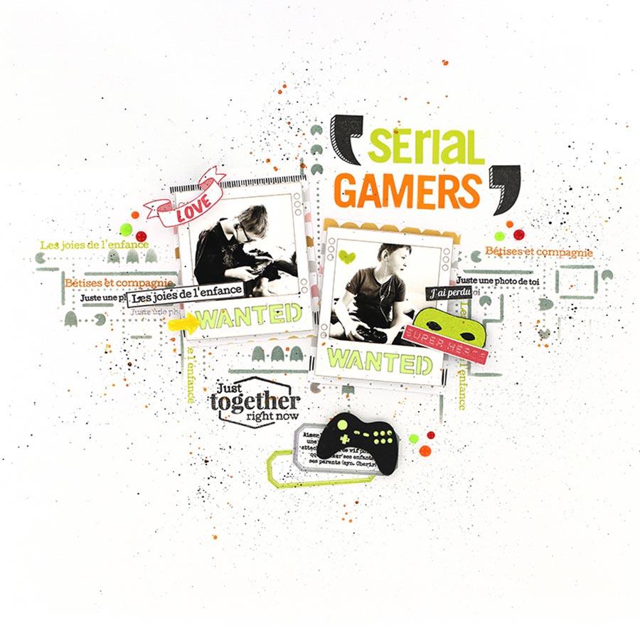 Die Set Wanted Gamer - 2 pcs