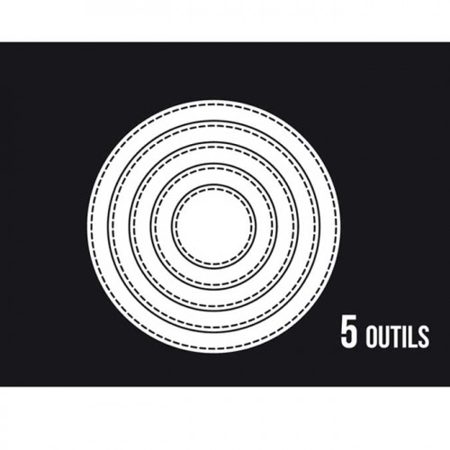 Dies Sweety Cuts - Cercles basiques - 5 pcs