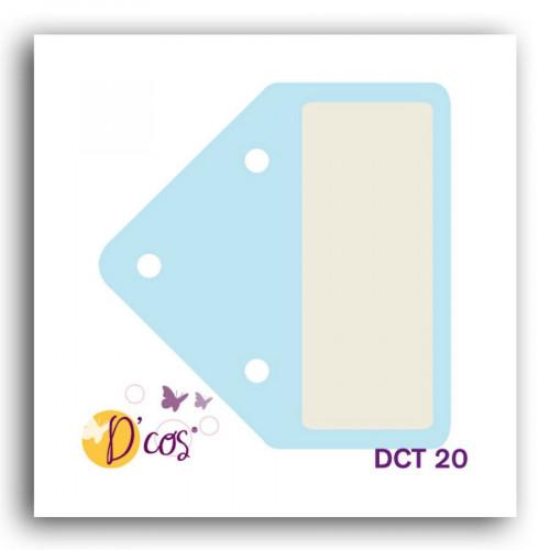 Die D'cos - Onglet #1 - 3,8 x 3,65 cm