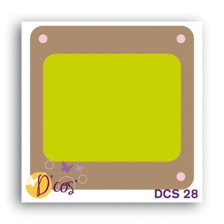 Die D'cos - Diapo - 3,8 x 3,8 cm