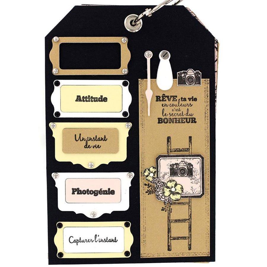 Die Set Porte-étiquettes festonnés - 2 pcs