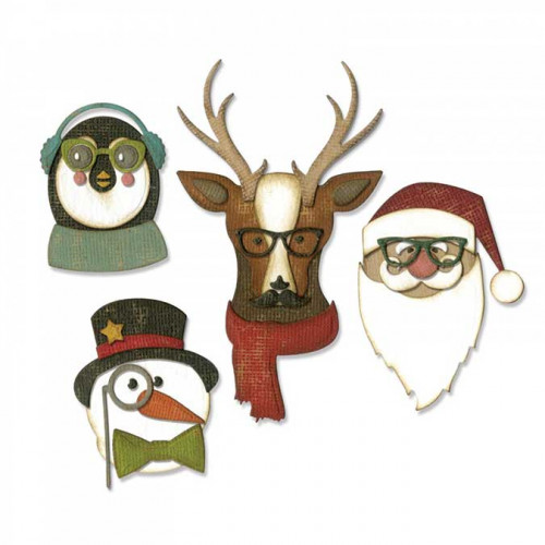 Thinlits Die Set Noël cool - 24 pcs  - Cool Yule