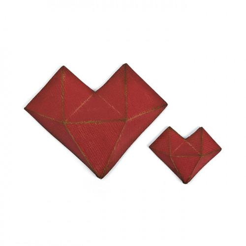 Thinlits Die Set Cœur à facettes - 2 pcs
