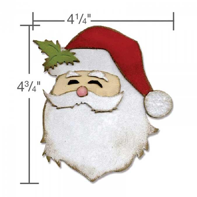 Bigz Die Père Noël par Tim Holtz