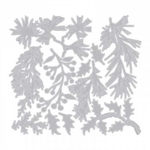 Thinlits set 11 pièces - Branchage multiples mini par Tim Holtz