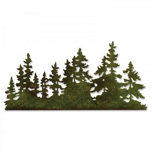 Thinlits Die Forêt de sapins par Tim Holtz