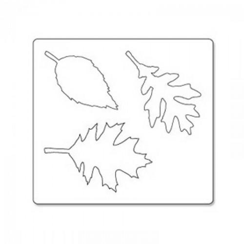 Bigz Die feuilles dentelées de Tim Holtz