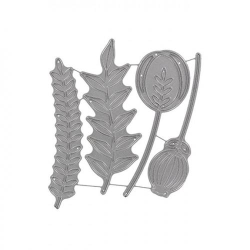 Matrices de découpe - Boutons de fleurs - 4 pcs