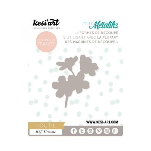 Mini Métaliks - Forme de découpe - Crocus - 1 pc