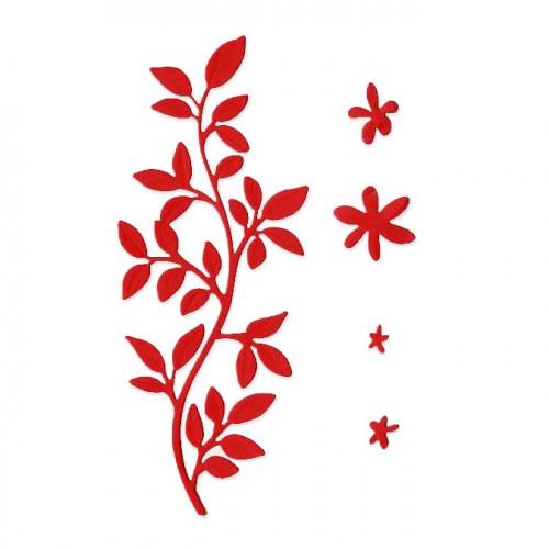 Die Set - Branche fleurie - 5 pcs