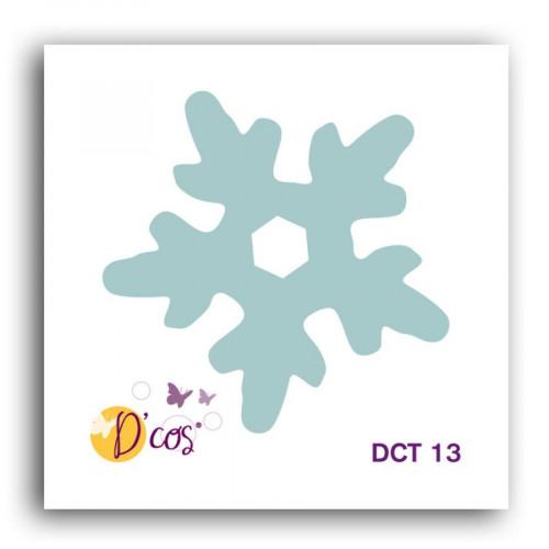 Die D'cos - Flocon 1 - 3,7 x 3,7 cm