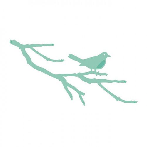 Die Oiseau sur branche - 9,7 x 5 cm