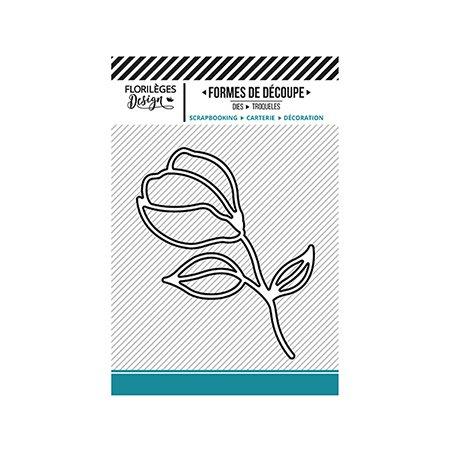 Die Bouton de fleur - 5,5 x 6,5 cm