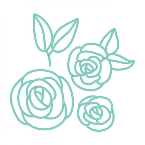 Die Set Fines Fleurs - 4 pcs