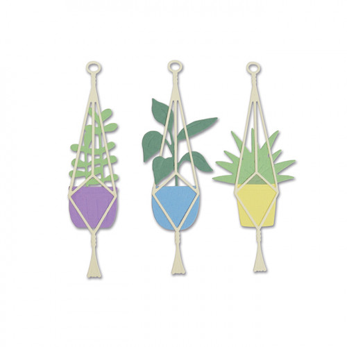 Thinlits Die Set Plantes suspendues - 4 pcs
