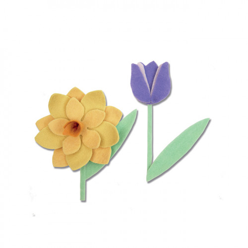 Bigz L Die Fleurs printanières