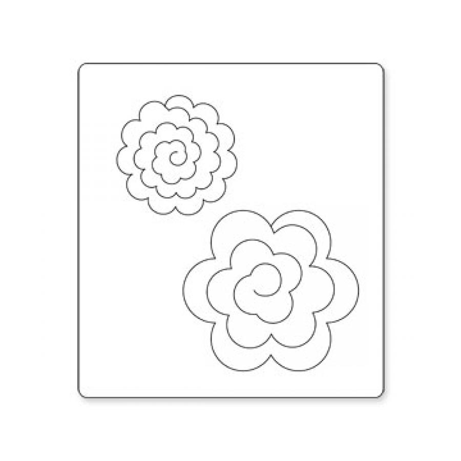 Bigz Die - Flowers, 3-D