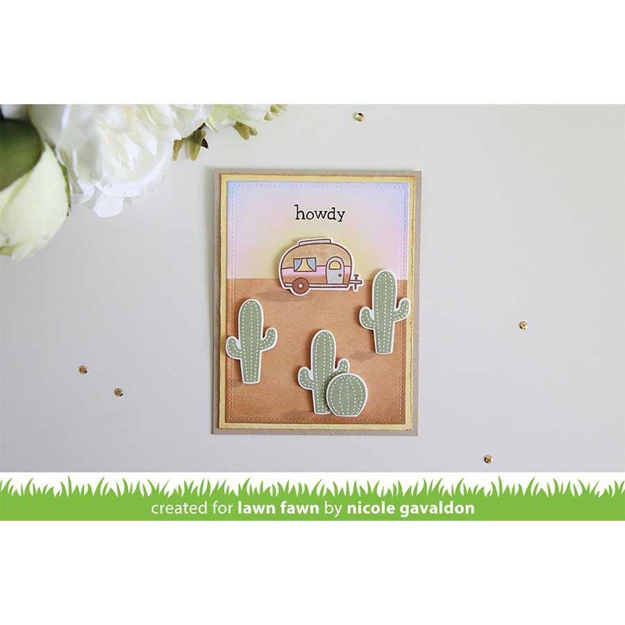 Die Set - Cactus et succulents - 9 pcs