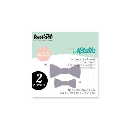 Formes de découpe - Mini Métaliks - Noeuds Papillon