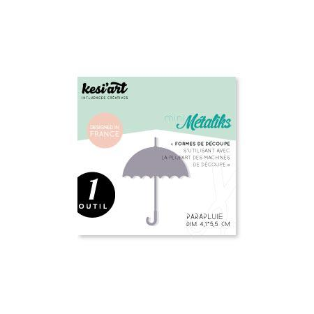 Forme de découpe - Mini Métaliks - Parapluie - 4,1 x 5,5 cm