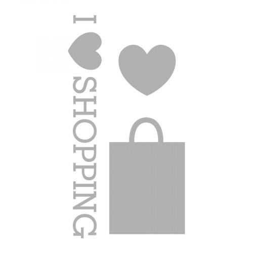 Fashionista - Die set - Shopping - 3 pcs