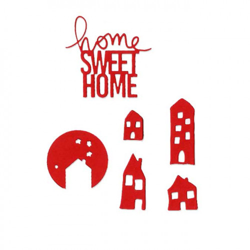 Die Set - Home Sweet Home - 8 pcs