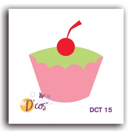 Die D'cos - Cupcake - 3,2 x 3,6 cm