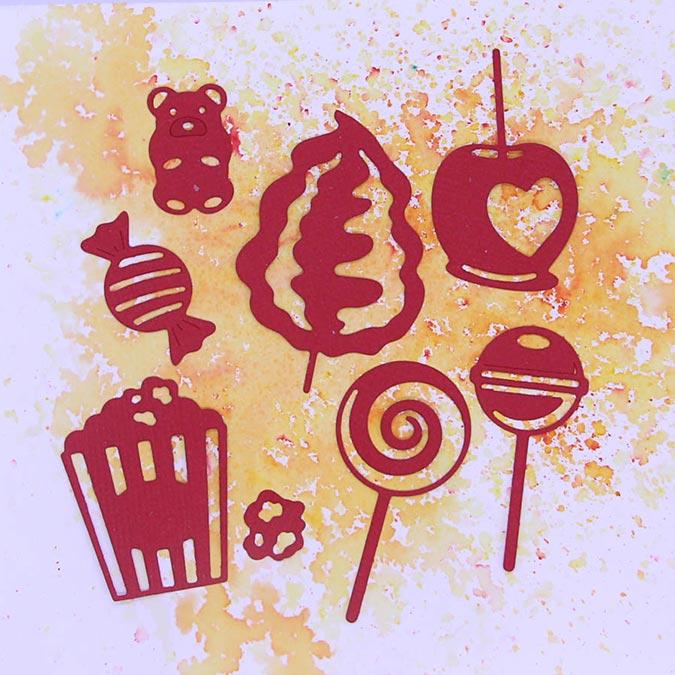 Die Set Bonbons - 8 pcs